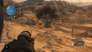 METAL GEAR SOLID: 5 ONLINE SNIPER SCOUT GAMEPLAY