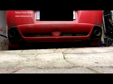 MAZDA RX 8 with LPG Liquefied Petroleum Gas z Gazem Cold Start
