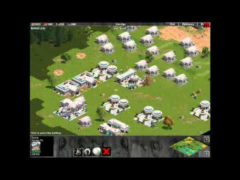 teh DRUNKEN leg pwn lolz - RFR_Gold vs hill_berries - Age of Empires Rise of Rome Multiplayer