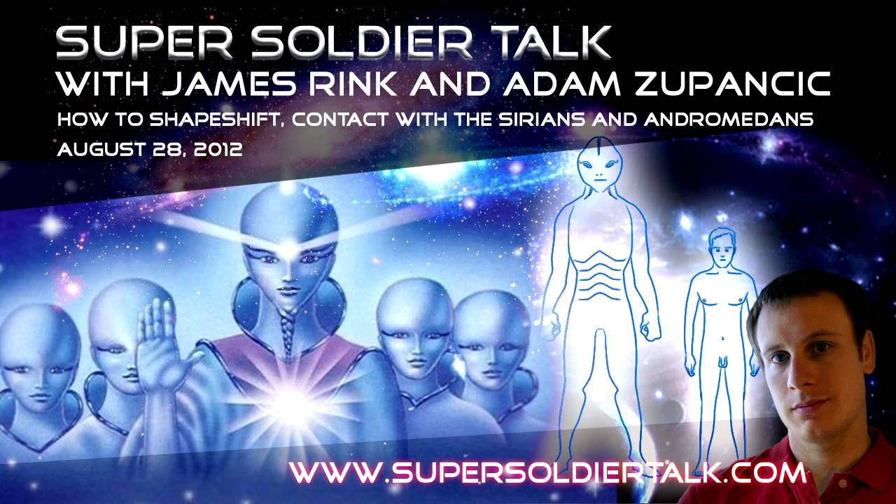 Super Soldier Talk – Shape Shifting and Contact with the