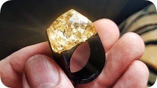 Мое третье эпоксидное кольцо - Своими ЛАПКАМИ 🐾