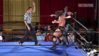 Metro Pro Wrestling - Show 081 - Mark Sterling vs. Ricky Cruz (w/ Lucy Mendez)