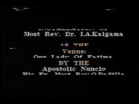 The Installation of Most Rev. Dr. Ignatius Ayau Kaigama as the second Catholic Archbishop of Jos
