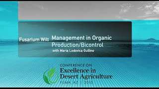 Fusarium Wilt Management in Organic Production/Biocontrol