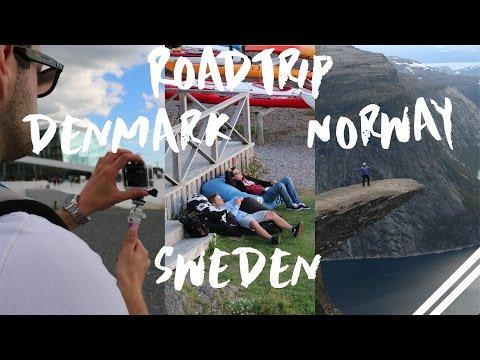 Road Trip Luxembourg | Denmark | Sweden | Norway (Gopro Hero 3+)