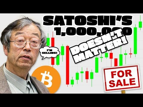 What Happens If Satoshi Sells His Bitcoin? Why Satoshi's 1,000,000 $BTC Don't Matter...