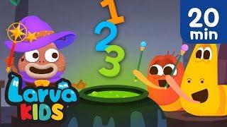 BEST NUMBER SONGS | COMPILATION | SUPER BEST SONGS FOR KIDS | LARVA KIDS