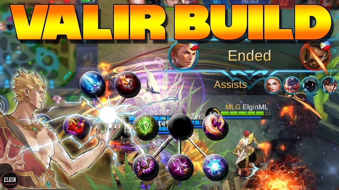 Valir Mobile Legend Build