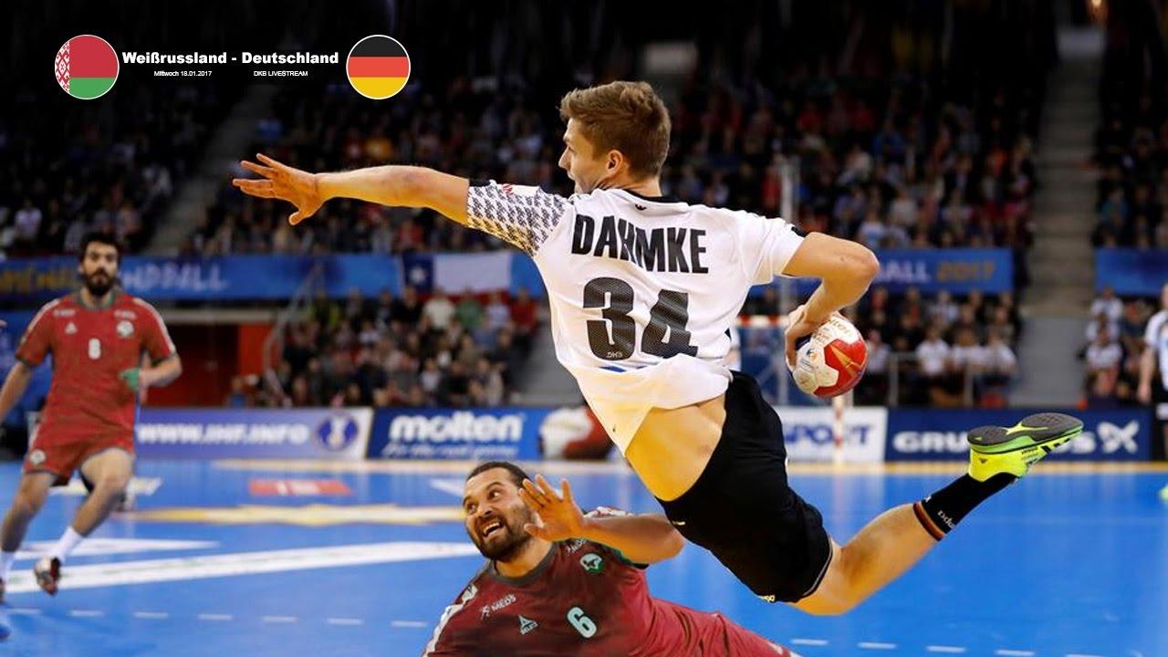 Highlights Weißrussland Deutschland 25 31 Handball Wm Der Männer