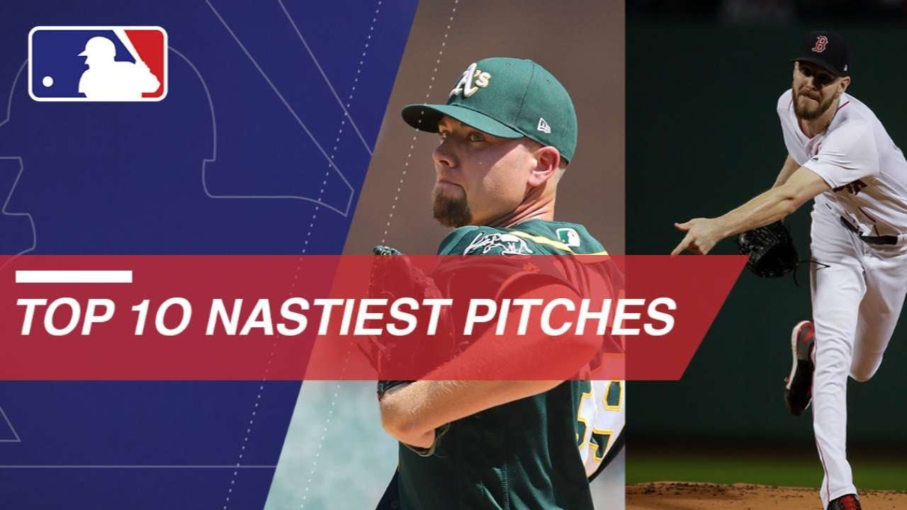 ae85f59a Top 10 Nastiest Pitches in MLB (Voted by players) - YouTube