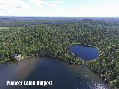 Alaska Pioneer Cabin Outpost Cabin, Fly-in Adventures!