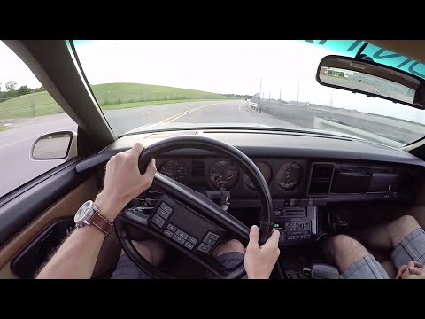 1989 Pontiac Turbo Trans Am Indy Pace Car – WR TV POV Test Drive