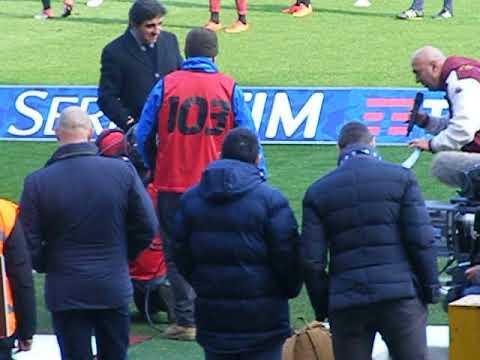 Torino - Udinese 2-0 Premiazione del piccolo tifoso granata Lorenzo
