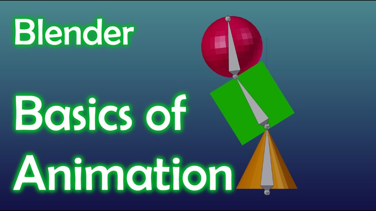 Blender Tutorial - Basics of Animation