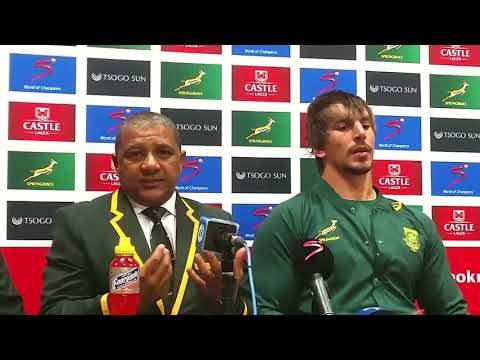 @Springboks coach Allister Coetzee on how they will approach the Salta game