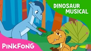 Feeding Baby Dinosaur | Dinosaur Musical | Pinkfong Stories for Children