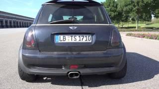 Mini Cooper S R53 Kompressor Sound & Acceleration
