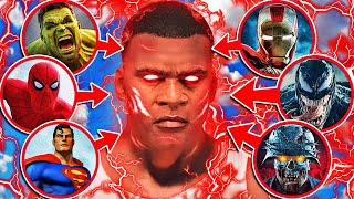 FRANKLIN Gets EVERY SUPER POWER In GTA 5 (Avengers)