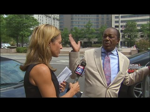 RAW VIDEO: Emily Miller asks Marion Barry about his unpaid DC parking tickets