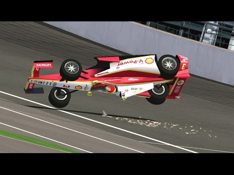 Can I Recreate Helio Castroneves' 2015 Indianapolis Flip? | NR2003 LIVE STREAM EP97