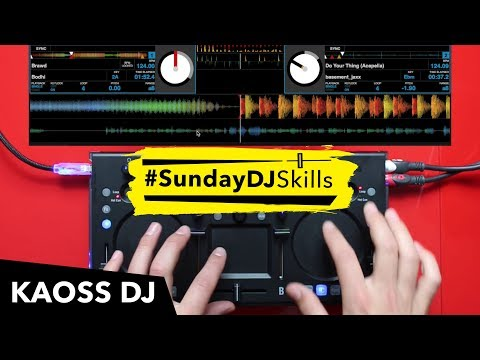 Korg Kaoss DJ - Performance Mix - #SundayDJSkills