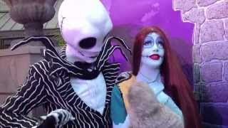 UNCLE TEDDY PUPPET Meet and Greet Jack Skellington & Sally from Disney