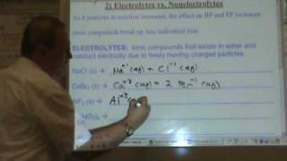 Chemistry Tutorial 10.3a:  Colligative Properties, Part 1