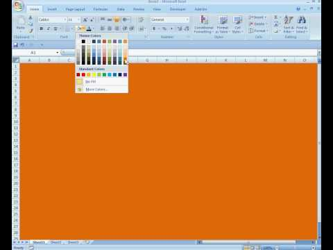 how to change theme color in microsoft outlook 2007
