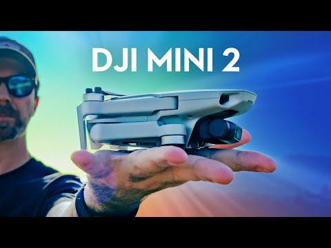 DJI Mini 2 - 4K Video, 10km Range, 31m Flight Time, Less Than 249g Drone.