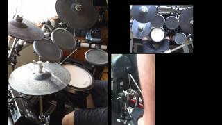 """""""N 2gether Now- All In Together Now"""" Limp Bizkit Remix Drum Cover"""