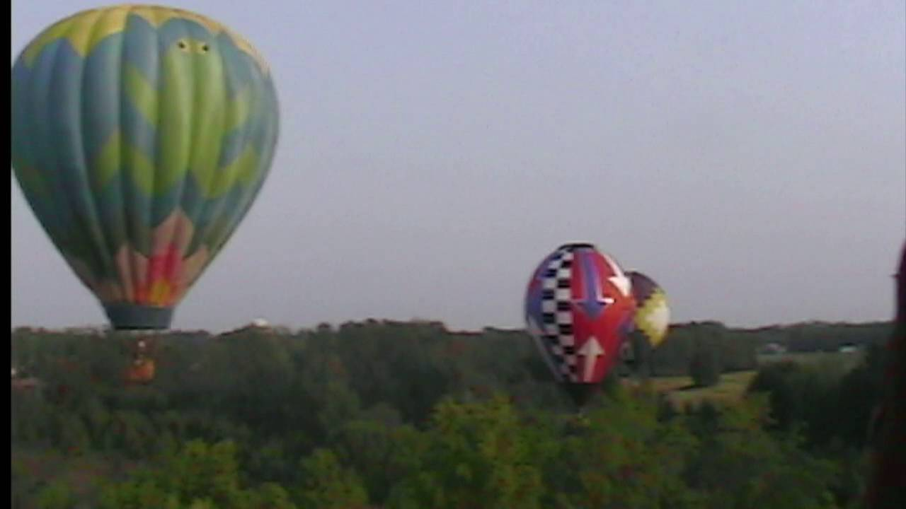 Captain telegram hot air balloon