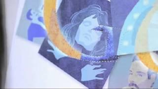 Jennifer Hom explains Freddie Mercury doodle