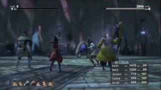 Lost Odyssey Rough Queen Boss Battle HD