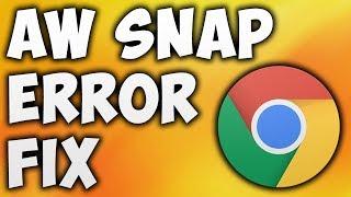 Wie Kann Man Das Aw-Snap-Fehler In Google Chrome - Der Einfachste Weg, Das Zu Beheben Aw-Snap-Seite Abstürzt