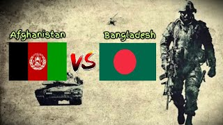 Bangladesh vs Afghanistan Military Power Comparison 2020    Military Power 2020