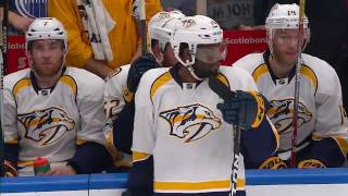Subban elbowed in return to action, brawl ensues
