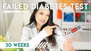 FAILED DIABETES TEST    Preggy Vlog Week 30
