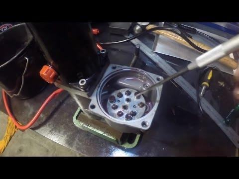 Water in outboard trim tilt hydraulic oil - YouTube