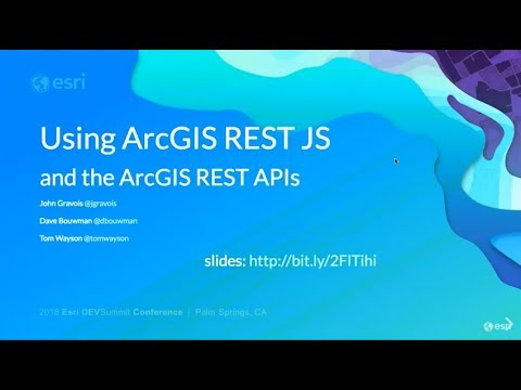 using-the-arcgis-rest-js-libraries-and-the-arcgis-rest-apis