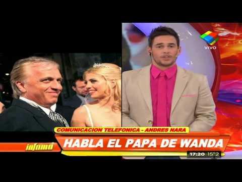 Andrés Nara busca mediar entre Wanda y Maxi