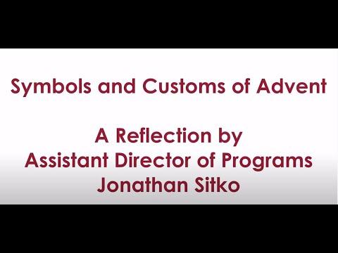 Symbols and Customs of Advent