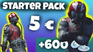 Fortnite *NEW* Starter Pack WINGMAN