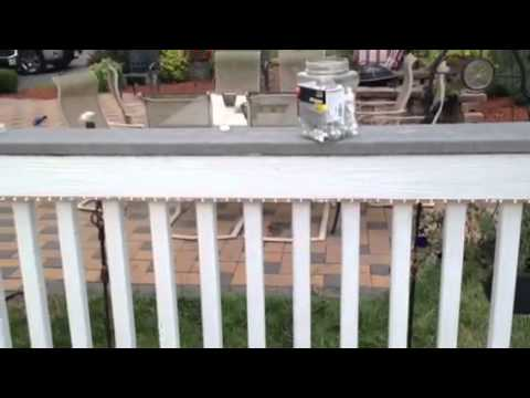 Diy installing rope lighting on your deck youtube aloadofball Image collections