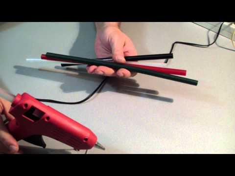 Пистолет клеевой или термопистолет. Как он клеет?