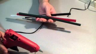 Пистолет клеевой или термопистолет. Как он клеет?(Пистолет клеевой. Обзор и практическое применение. Модель Intertool RT- 1011., 2013-12-25T22:43:58.000Z)