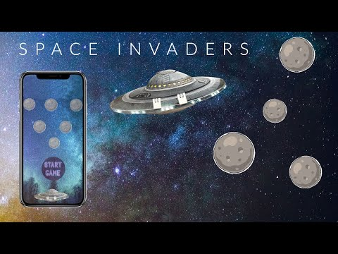 No Code Build a Space Invaders Game on Thunkable - Part 1