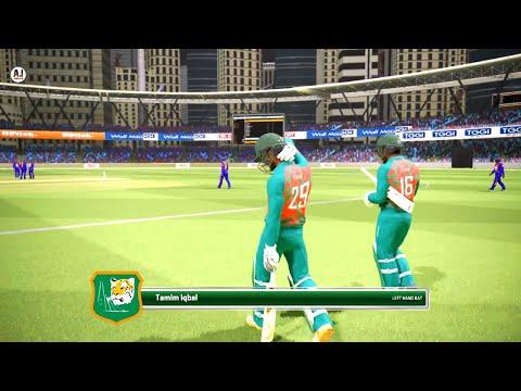 Bangladesh Vs Sri Lanka Asia Cup 2018 || Ashes Cricket Gameplay 1080p 60fps