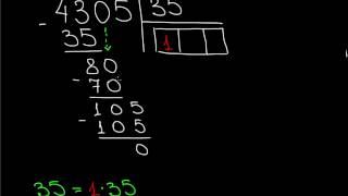 Деление в столбик на двузначные числа A2 1