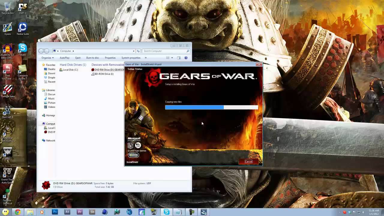 How to download gears of war 3 for free (pc) feb 2017 youtube.