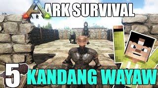 KANDANG DINOSAURS PERTAMA - ARK SURVIVAL SERIES #5